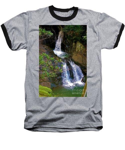 Waterfall In The Currumbin Valley Baseball T-Shirt