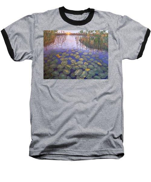 Waterlillies South Africa Baseball T-Shirt
