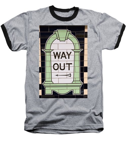 Way Out Baseball T-Shirt