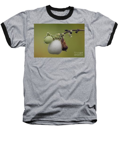 Baseball T-Shirt featuring the photograph Webbed Berry by Eunice Gibb