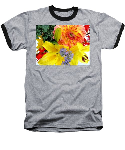 Baseball T-Shirt featuring the photograph Wedding Flowers by Rory Sagner
