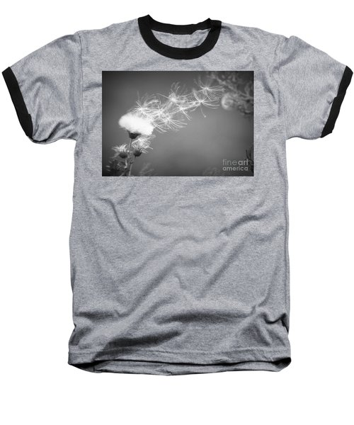Baseball T-Shirt featuring the photograph Weed In The Wind by Deniece Platt