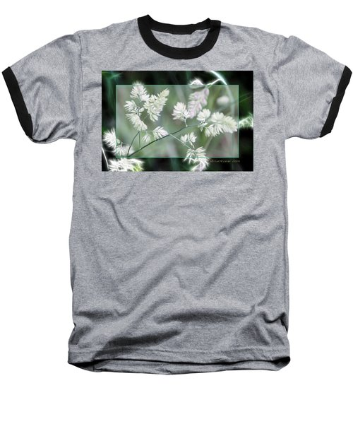 Baseball T-Shirt featuring the photograph Weeds by EricaMaxine  Price