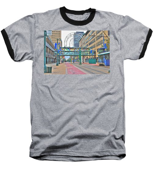 Baseball T-Shirt featuring the photograph Welcome No 2 by Michael Frank Jr