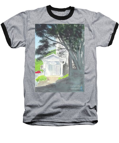 Baseball T-Shirt featuring the painting Wellers Carriage House 1 by Yoshiko Mishina