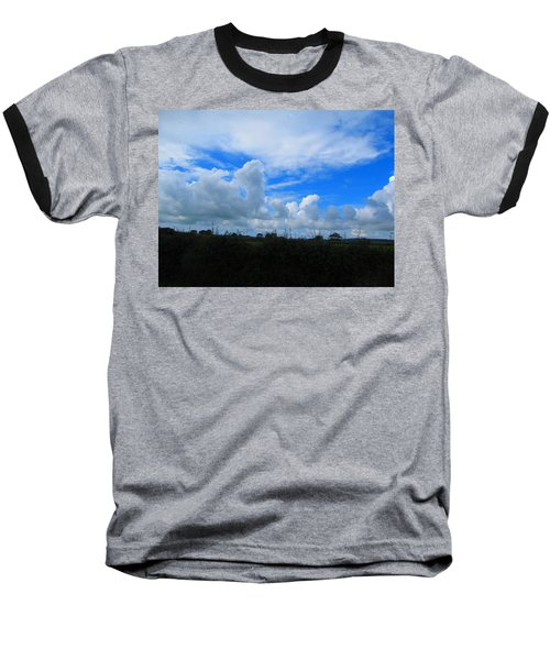 Welsh Sky Baseball T-Shirt