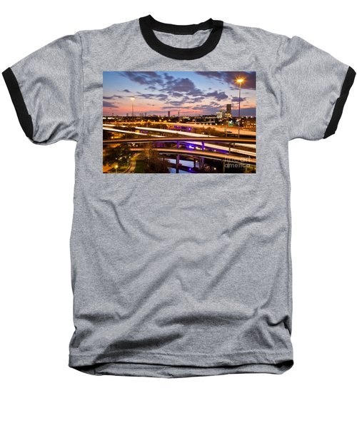 West Houston Around Dowtown Baseball T-Shirt
