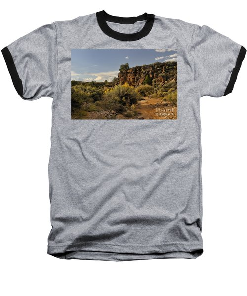 Westward Across The Mesa Baseball T-Shirt
