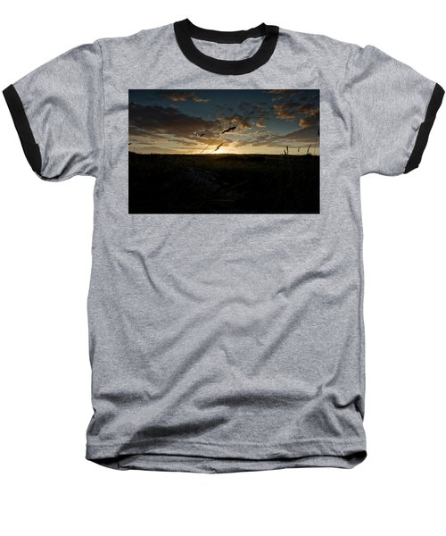 Wheat Fields  Baseball T-Shirt