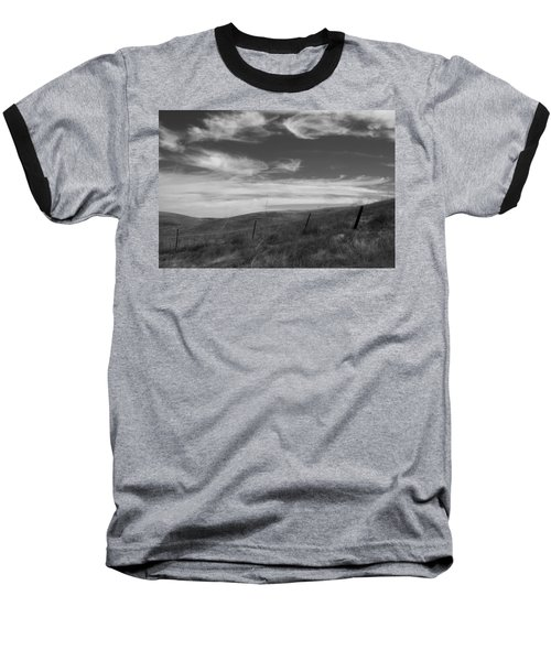 Baseball T-Shirt featuring the photograph Whipping Up The Hillside by Kathleen Grace