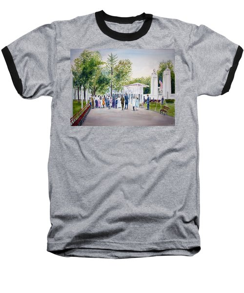 White City Baseball T-Shirt by Clara Sue Beym
