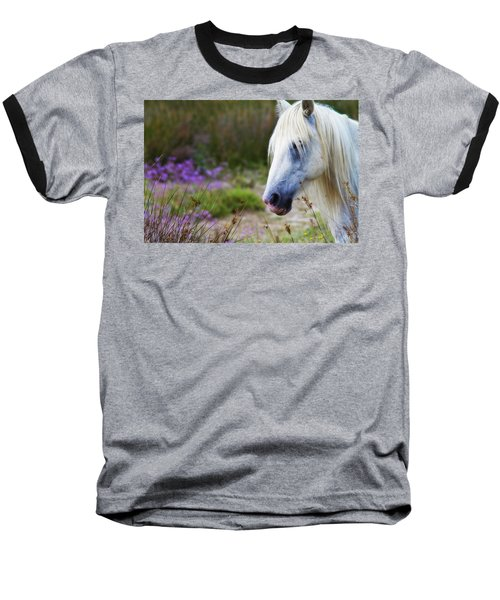 White Horse Baseball T-Shirt