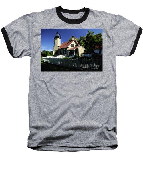 White River Light Baseball T-Shirt