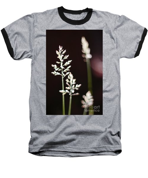 Wild Grass Baseball T-Shirt by Andy Prendy