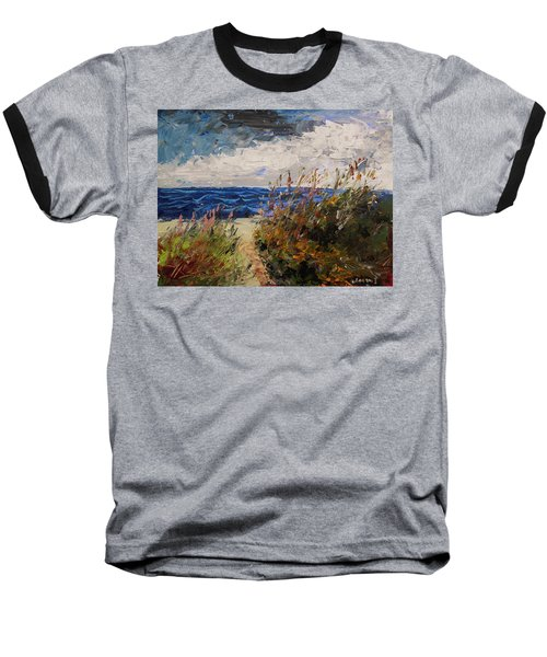 Wildflowers And Wind Baseball T-Shirt