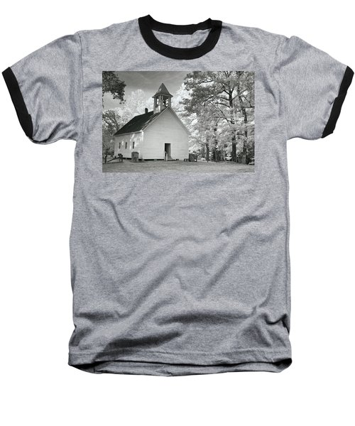 Baseball T-Shirt featuring the photograph Wildwood Church by Mary Almond