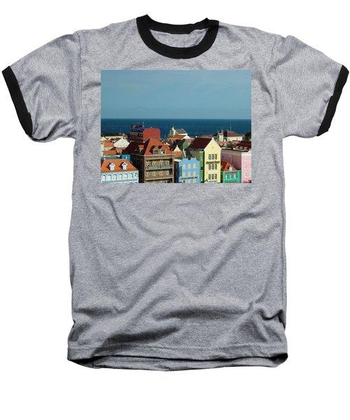 Williemstad Curacoa Baseball T-Shirt