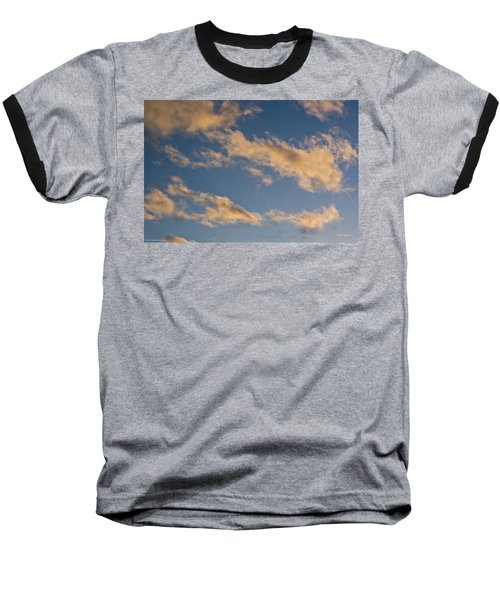 Wind Driven Clouds Baseball T-Shirt by Mick Anderson