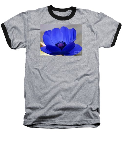 Windflower Baseball T-Shirt by Patricia Griffin Brett