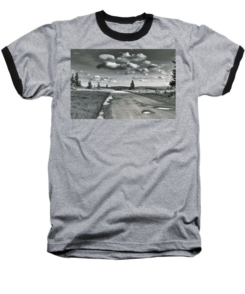 Baseball T-Shirt featuring the photograph Winding Road by Mary Almond