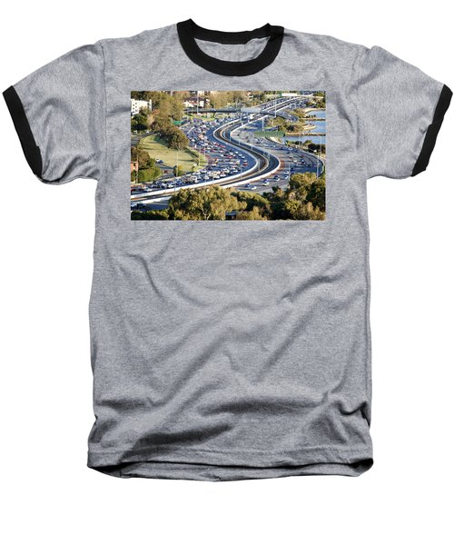 Baseball T-Shirt featuring the photograph Winding Road by Yew Kwang