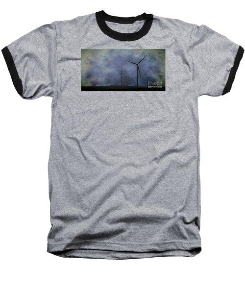 Windmills. Baseball T-Shirt