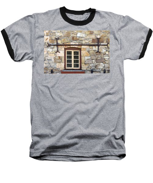 Window Into The Past Baseball T-Shirt