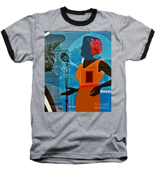 Baseball T-Shirt featuring the photograph Window To My Soul by Barbara McMahon