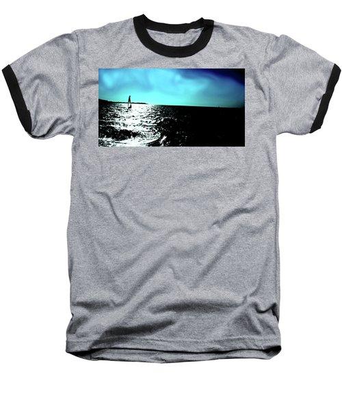 Windsurfing Greece Baseball T-Shirt