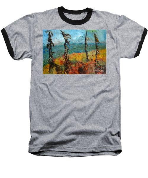 Windswept Pines Baseball T-Shirt
