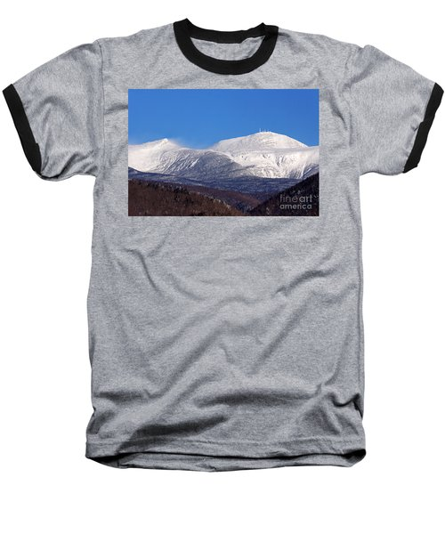 Windy Day At Mt Washington Baseball T-Shirt