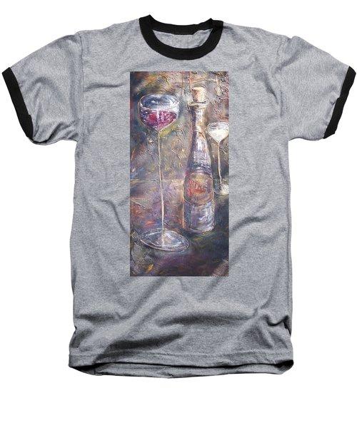 Wine Characters Baseball T-Shirt