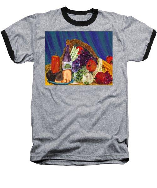 Wine Cornucopia Baseball T-Shirt