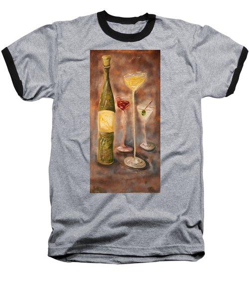 Wine Or Martini? Baseball T-Shirt