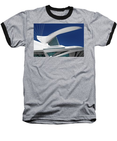 Wings Wide Open Baseball T-Shirt