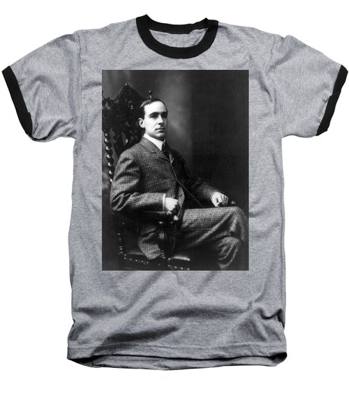 Baseball T-Shirt featuring the photograph Winston Churchill - C 1900 by International  Images