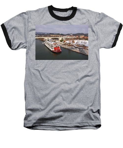 Winter In Coolidge Park Baseball T-Shirt
