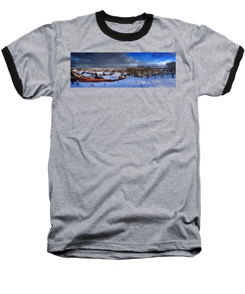 Winter In Inverness Baseball T-Shirt