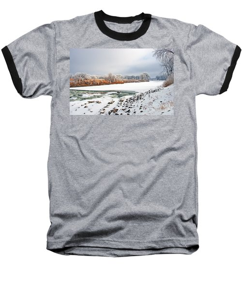 Winter Red River 2012 Baseball T-Shirt