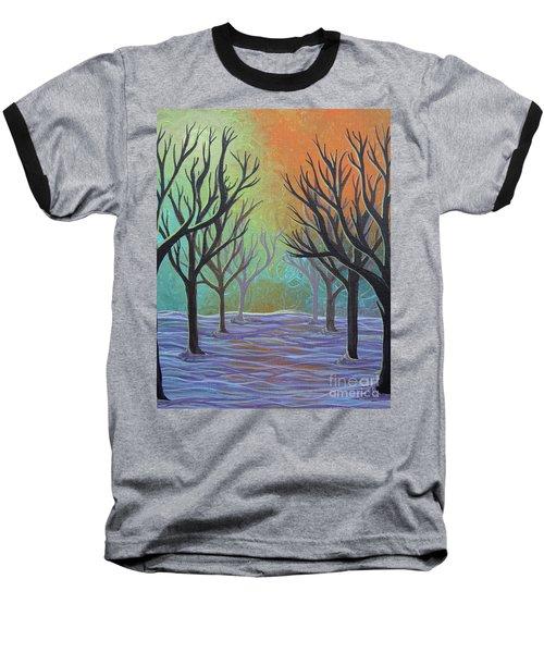Winter Solitude 11 Baseball T-Shirt