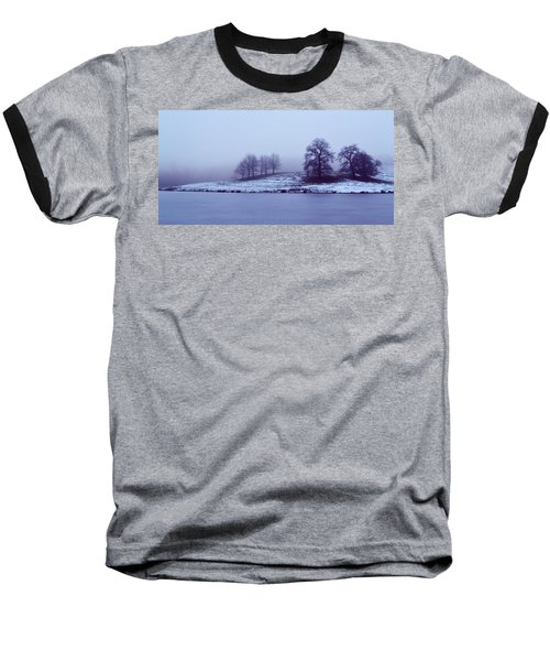 Winter Trees Baseball T-Shirt