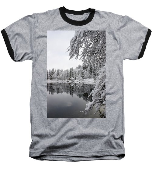 Wintery Reflections Baseball T-Shirt