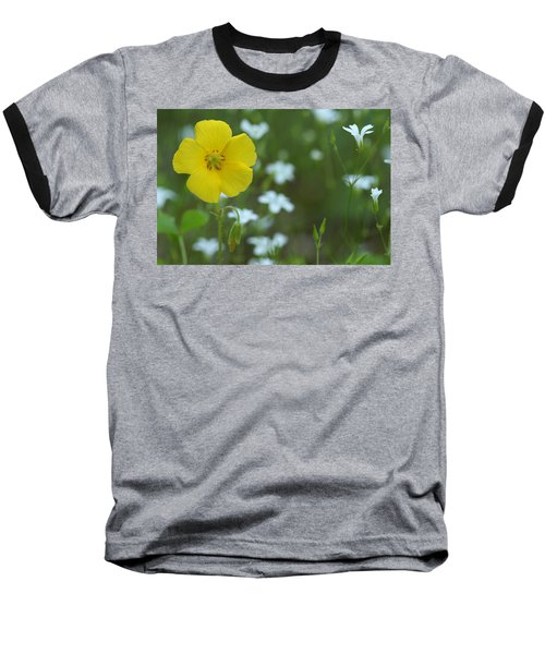 Wood Sorrel And Sandwort Baseball T-Shirt