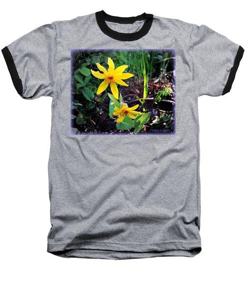 Woods Flower Baseball T-Shirt