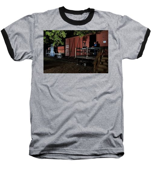 Working On The Railroad 2 Baseball T-Shirt