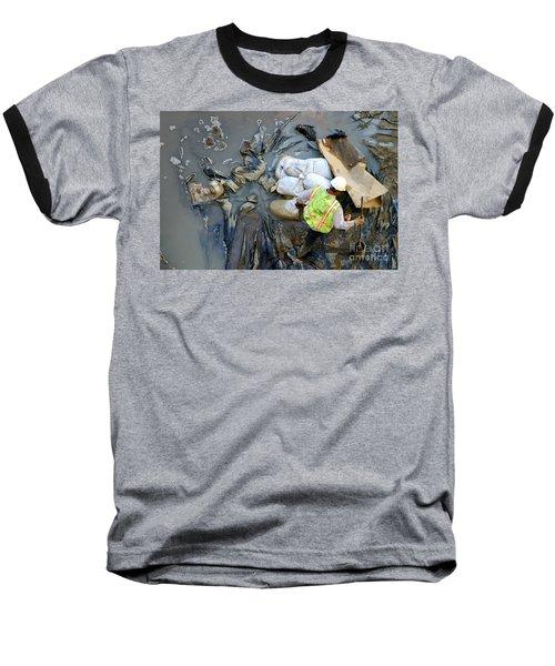 Working The Mud Baseball T-Shirt