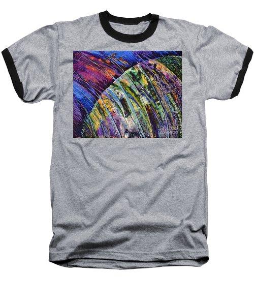 World In A Spin Baseball T-Shirt