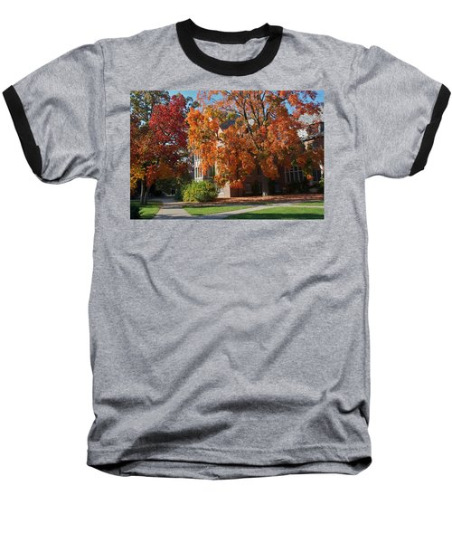 Baseball T-Shirt featuring the photograph WPA by Joseph Yarbrough