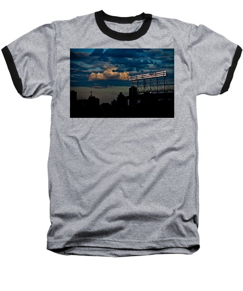 Wrigley Field Light Stand Baseball T-Shirt