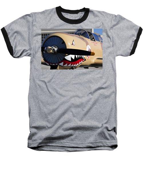 Yak Attack Baseball T-Shirt by David Lee Thompson